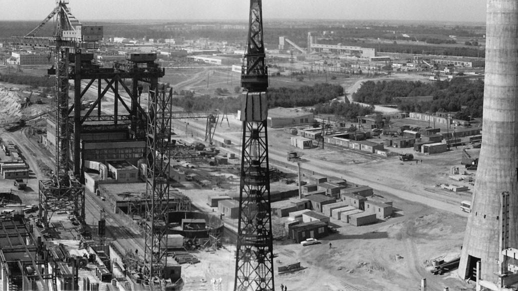 Будівництво Чорнобильської АЕС